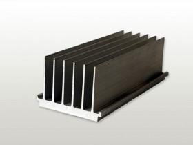 Z009 平板铝合金 散热器 梳形散热器